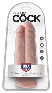 King Cock Two Cocks Flesh