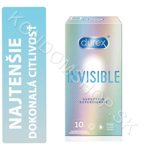 Durex Invisible Superthin (Extra Sensitive) krabička