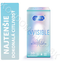 Durex Invisible Close Fit krabička