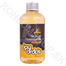 JoyDrops Sensual Massage Oil Apricot 250ml
