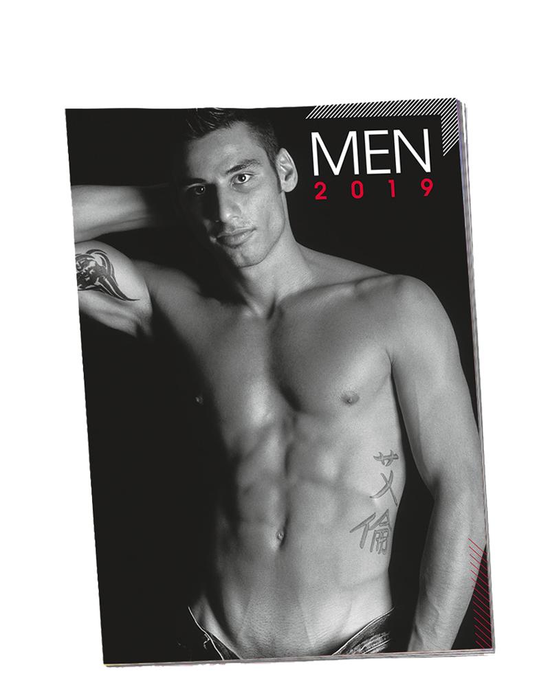 Erotický kalendár MEN 2019