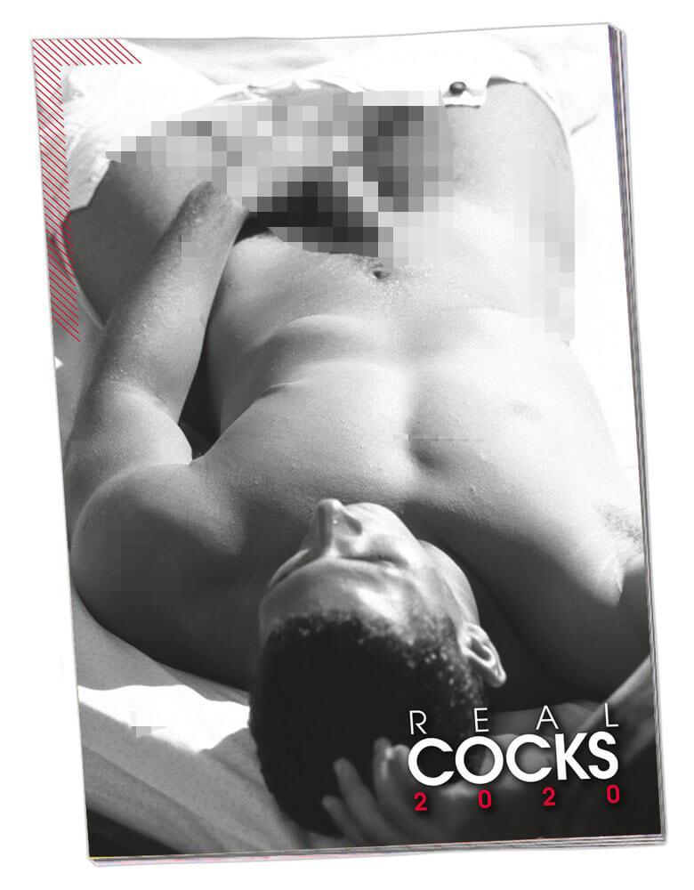 Erotický kalendár REAL COCKS 2020