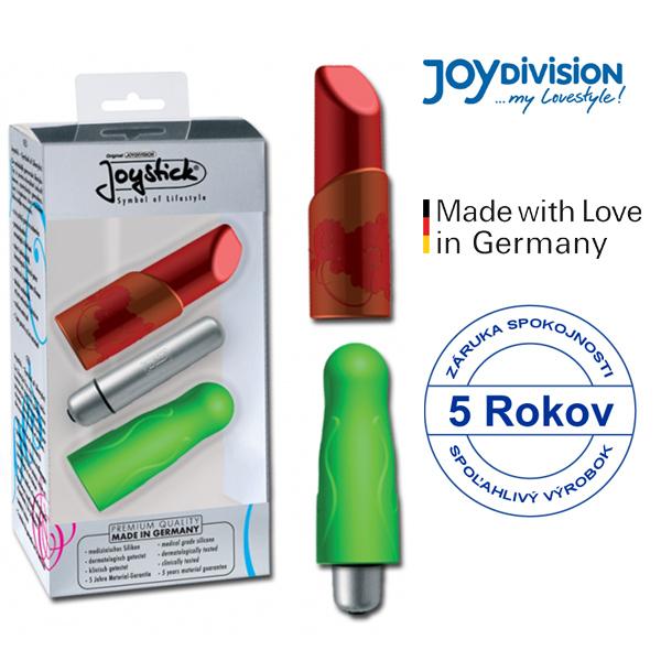 Joydivision Ladylike vibrátor Červená, zelený
