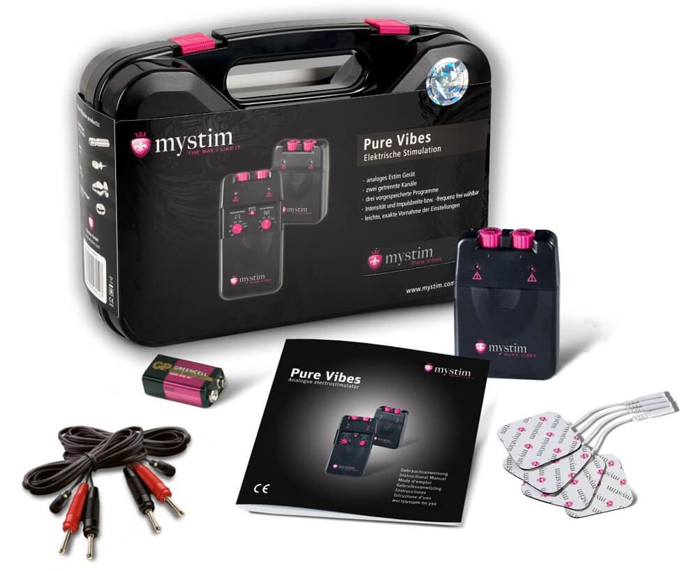 Mystim Pure Vibes E-Stim súprava na elektrosex