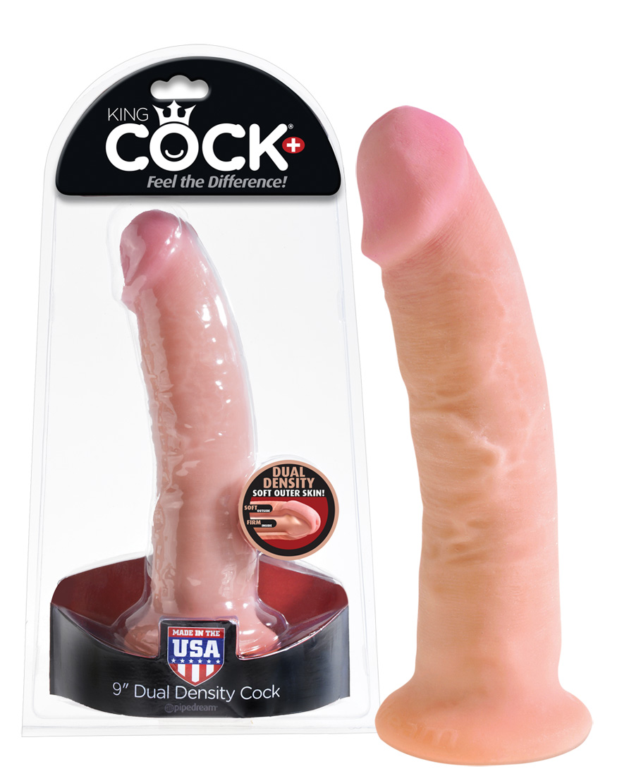 Pipedream King Cock Dual Density 9 palc.