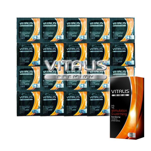 Vitalis Stimulation & Warming 3 ks