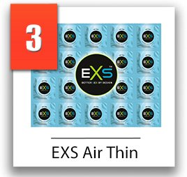 EXS Air Thin tenké kondómy