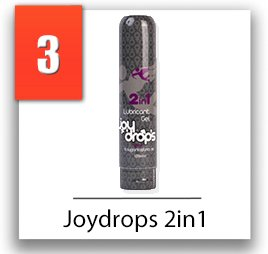 Joydrops sensual massage lube